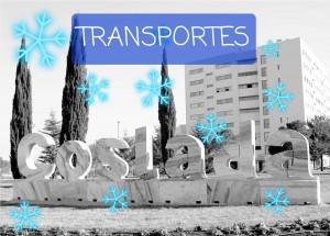 #TRANSPORTE / Incidencias Borrasca Filomena - Ola de Frío